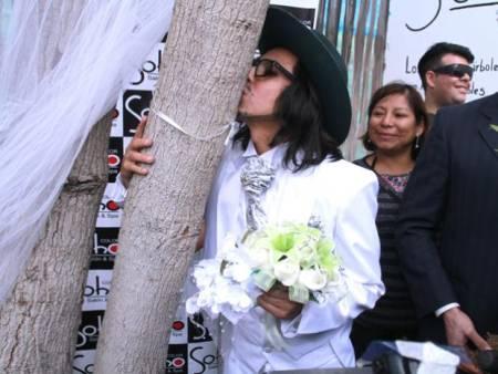Actor peruano se casará con un árbol en la República Dominicana