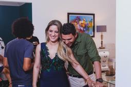 Nathalie Hazim, se destapa bajo el lente de Pedro Urrutia