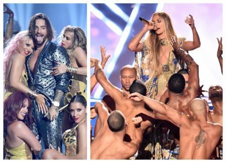 VIDEO:  JLo vs Maluma; ¿quién se lució más en los Premios MTV?
