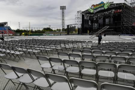 A pesar del mal tiempo, se esperan cerca de 18 mil personas para show de Marc Anthony