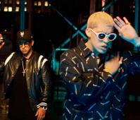 Daddy Yankee y Bad Bunny en concierto en Altos de Chavón