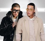 Daddy Yankee y Bad Bunny a Chavón