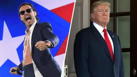 """Andares de la farándula: Marc Anthony llama """"asqueroso"""" a Trump"""