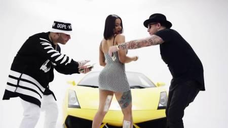 """VIDEO de Cardi B como modelo de canción """"Chapi Chapi"""" antes de ser famosa"""