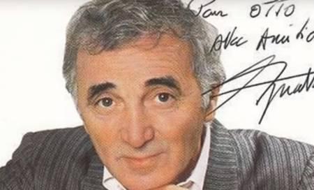 Charles Aznavour, la inconfundible voz de la nostalgia