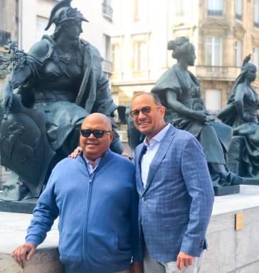 Delegación dominicana ente la UNESCO recibe visita de Pablo Milanés