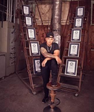 Daddy Yankee anota en su 'Bucket List' 10 Récords Guinness