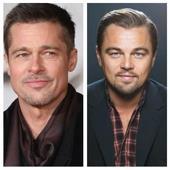 Leonardo DiCaprio y Brad Pitt piden salir a votar en legislativas de EE.UU.
