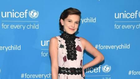 Millie Bobby Brown, la nueva y más joven embajadora de buena voluntad de UNICEF