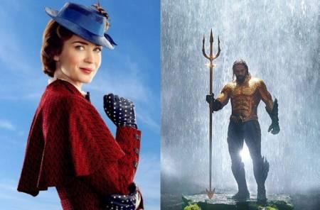 Estas navidades vuelven Mary Poppins, Spiderman y Aquaman