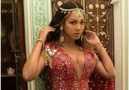 Beyoncé canta en una pre-boda en India