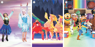 """Los """"Mundos fantásticos"""" de Disney On Ice"""