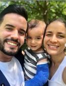 Manny  Cruz comparte con seguidores estado de salud de su hijo Mateo