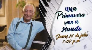 """Rafael Solano será homenajeado esta noche con el concierto """"Primavera para el mundo"""""""