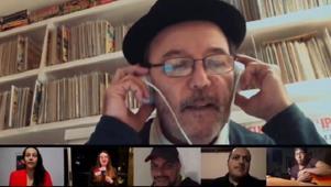 Rubén Blades usó 166 personas en el coro en una canción por el Covid-19