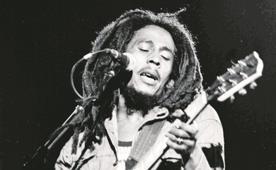 Bob Marley dejó más de 150 fotografías y su hijo las publicará en un libro