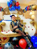 La fiesta sorpresa del bachatero Elvis Martínez